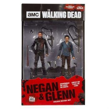 "McFarlane Walking Dead Negan and Glenn 5"" Deluxe Action Figure 2 Pack"